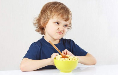 Child refusing to eat
