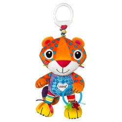 Lamaze Play and Grow Purring Percival Travel Toy