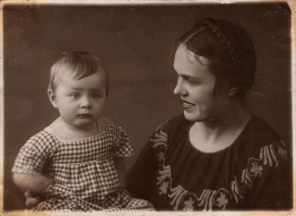 Russian vintage photograph