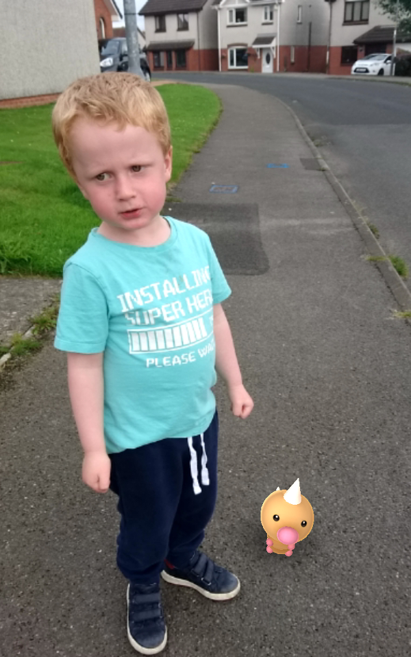 Boy With Pokemon