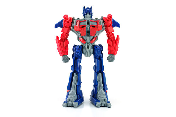 Optimus Prime toy character from TRANSFORMERS Movie_EUO_Nicescene-shutterstock