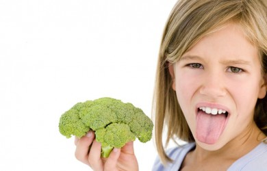 Child hates broccoli
